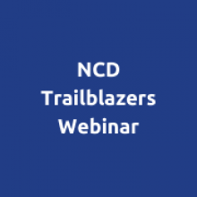 NCD Alliance Trailblazers Webinar:  Bridging the gap in financing for NCDs