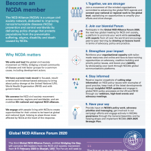 Become an NCDA member - One-pager
