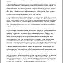 Lettre ouverte aux gouvernements à l'approche de la Réunion de haut niveau sur la CSU