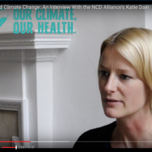 Katie Dain Speaks with GCHA on COP21