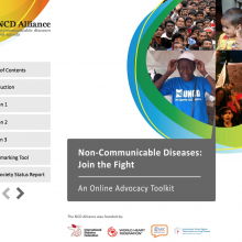 """""""Non-communicable Diseases: Join the Fight"""""""