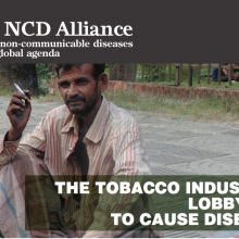 The Tobacco Industry: Lobbying to Cause Disease