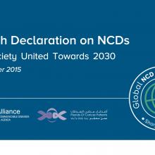 Sharjah Declaration on NCDs