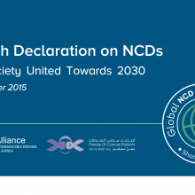 Sharjah Declaration on NCDs