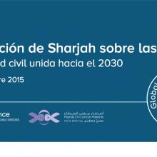 Declaración de Sharjah sobre las ENT - La sociedad civil unida hacia el 2030