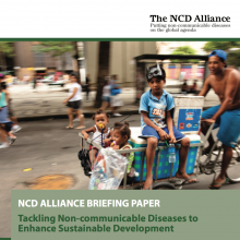 Tackling NCDs to Enhance Sustainable Development