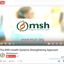 The MSH Health Systems Strengthening Approach
