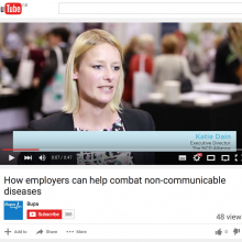 How employers can help combat non-communicable diseases