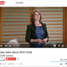 Kate Armstrong talks about NCD Child