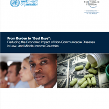 "World Health Organization: From burden to ""best buys"": Reducing the economic impact of NCDs in low- and middle-income countries"