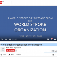 World Stroke Organization Proclamation