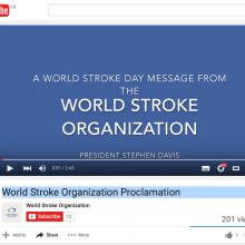 World Stroke Organization Proclamation
