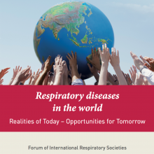 Respiratory diseases in the world