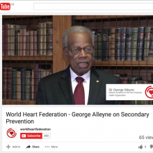 World Heart Federation - George Alleyne on Secondary Prevention