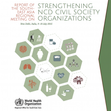Report on SEARO meeting on strengthening NCD civil society organisations in SEARO