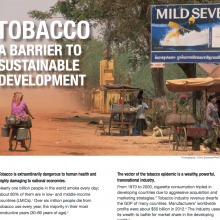 Tobacco. A Barrier to Development
