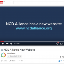 New NCD Alliance Website