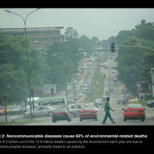 WHO: 10 facts on preventing disease through healthy environments
