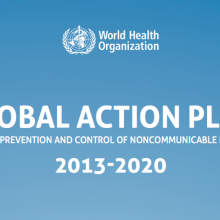 Global action plan for the prevention and control of NCDs 2013-2020