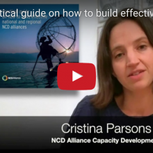 Introducing the Practical guide on how to build effective national and regional NCD alliances