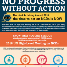 WHA70: NCDs - No Progress Without Action