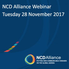 NCD Alliance Webinar, 28 November 2017