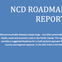 Pacific NCD roadmap