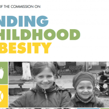 Report of the Commission on Ending Childhood Obesity