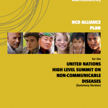 Our advocacy campaign for the UN Summit on NCDs