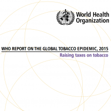 WHO report on the global tobacco epidemic 2015