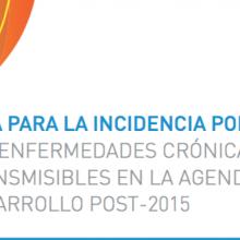 Guía para la incidencia política: Las enfermedades crónicas no transmisibles en la agenda de desarrollo post-2015