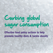 Curbing global sugar consumption