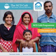 NCD Café Programme - Vancouver, December 2015