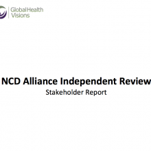 NCD Alliance Independent Review 2015