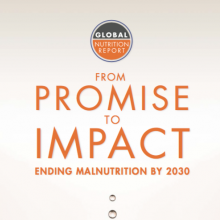 2016 Global Nutrition Report