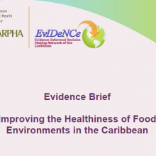 Improving the Healthiness of Food Environments in the Caribbean