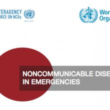 NCDs in Emergencies