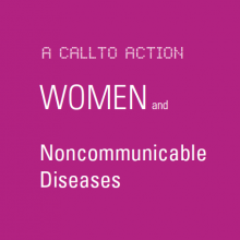 Women & NCDs - A Call to Action: Girls and Adolescents