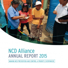 NCD Alliance Annual Report 2015