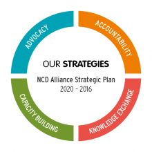 NCD Alliance Strategic Plan 2016-2020 at a Glance