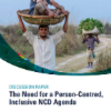 The Need for a Person-Centred, Inclusive NCD Agenda
