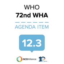 72nd WHO WHA Statement on Item 12.3 Human resources for health
