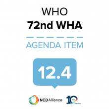 72nd WHO WHA Statement on Item 12.4 Promoting the health of refugees and migrants