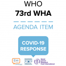 73rd WHO World Health Assembly Statement on Item 3 COVID-19 Response.
