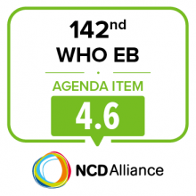 142nd WHO EB Joint Statement on Item 4.6: Comprehensive Implementation Plan on Maternal, Infant and Young Child Nutrition: Biennial Report