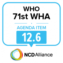 71st WHO WHA Statement on Item 12.6: Maternal, infant & young child nutrition