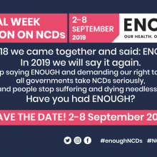 2nd Global Week for Action on NCDs