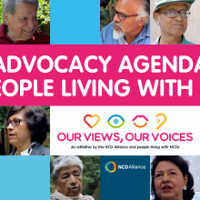 Take action to further the Advocacy Agenda of People Living with NCDs