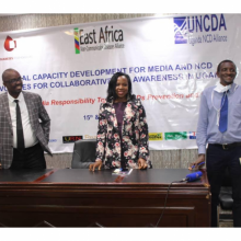 East Africa enhances media coverage on NCD prevention and control