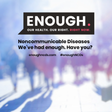 ENOUGH campaign website launched